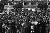 Bangladesh rally 1971 for the release of Sheikh Mujib from prison and for independence. Trafalgar Square, London. He was imprisoned by the ruling miltary junta in Pakistan - Martin Mayer - 01-08-1971