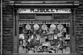 Buy British sickers South Wales 1985. General store R.J. Gully, Bryn Stores, Aberdare - NLA - 22-07-1985