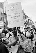 Nurses pay protest, South London 1982 - NLA - 22-05-1982