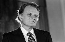 Billy Graham, the American evangelist 1973, London - NLA - 23-08-1973
