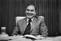 Sir Peter Parker, Chairman of British Rail, London, 1978 - Peter Arkell - 05-05-1978
