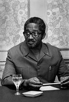 Forbes Burnham, Prime Minister of British Guyana London 1978 - Peter Arkell - 05-05-1978