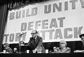 Gordon McLennan, Communist Party Congress, London 1979 - Peter Arkell - 10-11-1979