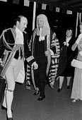 Lord Denning arriving, Lord Mayor's Banquet, London 1979 - Peter Arkell - 13-11-1979