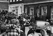 Margaret Thatcher arriving Downing Street, 1979 the new prime minister. London, the day after the Conservative Party won the general election - Peter Arkell - 04-05-1979