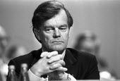 Alan Clark 1984 Conservative Party Conference, Brighton - Peter Arkell - 09-10-1984