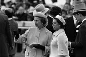 1979 Epsom Derby, The Queen and Princess Margaret - Peter Arkell - 06-06-1979