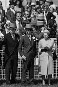 1979 Epsom Derby, The Queen and Prince Charles - Peter Arkell - 06-06-1979