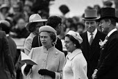 1979 Epsom Derby, The Queen, Princess Margaret and Prince Phillip - Peter Arkell - 06-06-1979