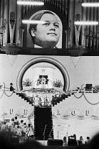 Prem Rawat speaking to The Divine Light Mission 1973 Guru Puja Festival, Alexandra Palace, London - Ray Rising - 15-07-1973