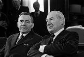 Andrei Gromyko, Jim Callaghan, Foreign Office, London, 1976. Gromyko was a powerful Soviet foreign minister and James Callaghan, the UK foreign minister. - Ray Rising - 22-03-1976