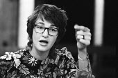Nancy Meckler director of The Freehold Theatre Company London 1970 An American director, the company which collectively devised non-naturalistic avant garde plays - Bente Fasmer - 14-05-1970
