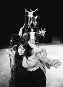 The Freehold Theatre Company rehearsing London 1970 Dinah Stabb directed by Nancy Meckler - Bente Fasmer - 15-05-1970