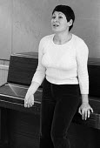 Janet Mokades directing The Bedbug by Vladimir Mayakovsky, Cockpit Theatre London 1972 - Chris Davies - 11-06-1972