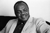 E R Braithwaite Guyanese 1972 author of To Sir With Love, a story about a black teacher's experience in schools in inner city London in the 1960s - Chris Davies - 06-08-1972