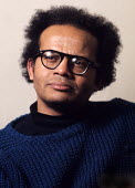 Barry Reckord 1972 Jamaican born author and playwright, writer of Skyness and Beautiful Caribbean - Chris Davies - 26-02-1972