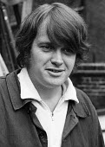 Playwright Howard Brenton, Royal Court Theatre London 1973 - Chris Davies - 27-06-1973