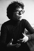 Natalya Gorbanevskaya, Russian poet and civil rights activist London 1976. Founder and first editor of A Chronicle of Current Events - John Sturrock - 26-11-1976