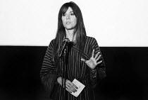 Jane Fonda speaking London 1976 on the struggle to establish the UFW in California, The Other Cinema - John Sturrock - 16-10-1967