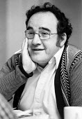 Tom McGrath, playwright at the Traverse Theatre 1978 London. Author of The Android Circuit - John Sturrock - 13-09-1978