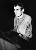 Galt MacDermot 1973 Canadian American pianist and composer of the musicals Hair and Two Gentlemen of Verona - Patrick Eagar - 16-04-1973