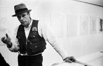 "Joseph Beuys, ICA London 1974 Art into Society ��"" Society into Art: Seven German Artists - Peter Harrap - 08-07-1974"