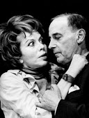 Delirium for Two by Eugene Ionesco, Yvonne Arnaud Theatre Guildford 1968. Wanda Rotha and Wolf Frees, Delire a deux, first UK performance - Romano Cagnoni - 03-11-1968