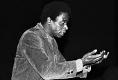 Faustin Charles, Black Writers In Britain Conference 1982, The Factory, Westbourne Park London - Rick Matthews - 11-12-1982