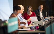 Mary Bousted, NEU, Ged Nicols Accord, Frances O'Grady, Paul Nowak TUC Congress 2020 online, Congress House, London. - Jess Hurd - 14-09-2020