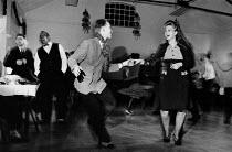 1940s Club. Welsh Centre, London - Melanie Friend - 15-12-1990