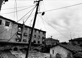 Poor housing block, Shkodra, Albania 1996 - Melanie Friend - 08-05-1996