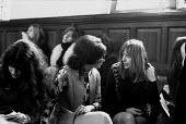 Sheila Rowbotham (R) First National Women's Liberation Conference, Ruskin College, Oxford 1970 - Sally Fraser - 27-02-1970