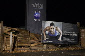 Dilapidated entrance to Vital Gym. Joining offer sign. How long will gyms remain in business with Covid restrictions? Stratford-upon-Avon, Warwickshire - John Harris - 28-09-2020