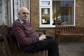 Elderly man, sheltered accommodation, Broseley, Telford, Shropshire - John Harris - 03-11-2020