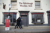 Closed The Edinburgh Woollen Mill, the company has gone into into administration, Stratford Upon Avon, Warwickshire - John Harris - 07-11-2020