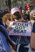 Detroit, USA Trump Supporters rally outside ballot count at the TCF Center, where absentee ballots in the 2020 presidential election were counted. They claim that the election was being stolen from Tr... - Jim West - 06-11-2020