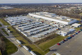 Allen Park, Michigan USA: Delays at US Postal Service Mail Distribution Center. Lengthy delays of weeks and months in processing mail at the USPS Detroit Network Distribution Center. Besides many trai... - Jim West - 15-12-2020