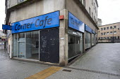 Corner Cafe closed during lockdown, Broadmead, Bristol - Paul Box - 12-01-2021