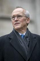 Mark Turnbull, picket, Shrewsbury 24 appeal hearing, Royal Courts of Justice, London - Jess Hurd - 03-02-2021