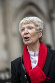 Eileen Turnbull, Shrewsbury 24 Campaign, appeal hearing, Royal Courts of Justice, London - Jess Hurd - 03-02-2021
