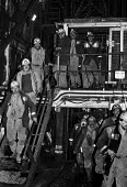 Miners coming off shift, Maerdy Colliery, South Wales 1986 - Peter Arkell - 30-11-1986