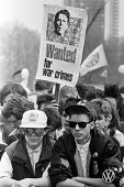 Youth, CND march and rally London 1987 - Peter Arkell - 31-03-1987