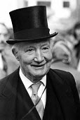 Lord Denning, 1987 annual procession of Judges from Westminster Abbey to the Houses of Parliament, London to mark official start of year in the British legal system - Peter Arkell - 01-10-1987