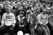 Trades union rally against water privatisation London 1989. Water Works Keep It Public t-shirt - Peter Arkell - 12-03-1989