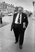 Liberal Party MP Cyril Smith arriving 1978 Liberal Party conference - Peter Arkell - 12-09-1978