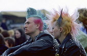 Punks, CND Easter protest rally London 1981 - NLA - 18-04-1981