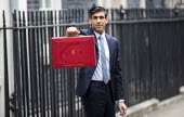Rishi Sunak, Budget Day, No 11 Downing Street, Westminster, London - Jess Hurd - 03-03-2021