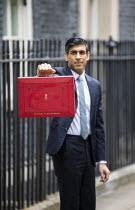 Rishi Sunak, Budget Day, No 11 Downing Street, Westminster, London - Jess Hurd - 03-03-2021