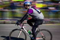 03-05-2015 - Members of the public take part in a charity race covering the same route as the Tour De Yorkshire for the Childrens Hospital Charity. Around 4000 people completed the race. Roundhay Park, Leeds, West... © Connor Matheson