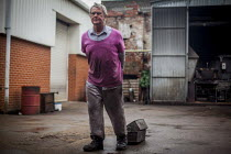 18-05-2015 - J Adams and Sons manufacture a range of military and cooking knives out of steel using traditional hand based production methods. The family business employs around 16 people part time and has been pa... © Connor Matheson